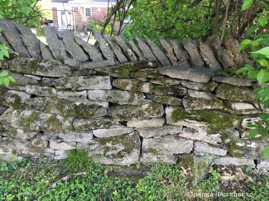 dry-stack wall