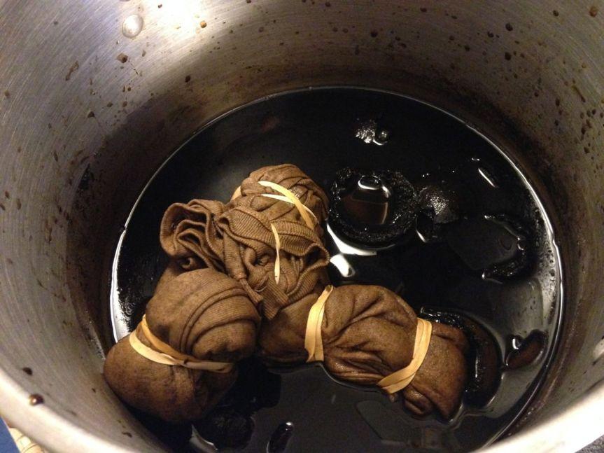 walnut-dye