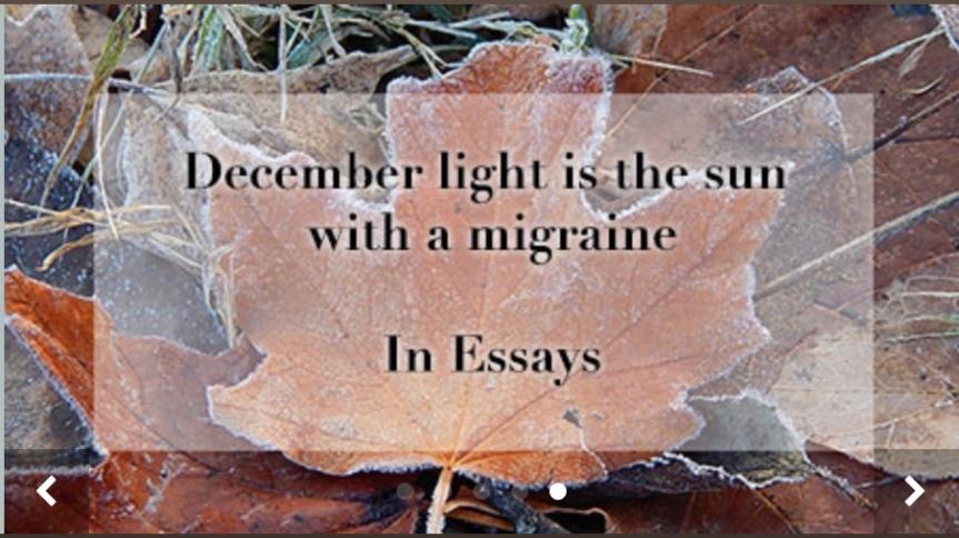 Winter Solstice image Brichetto